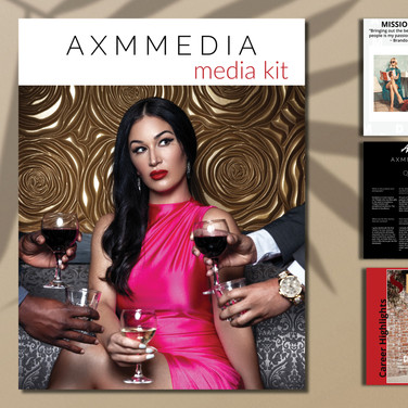 Media Kit Designed by our Professional Graphic/Web Designers