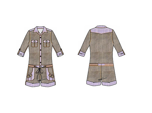Custom Made Rompers/Jumpsuits