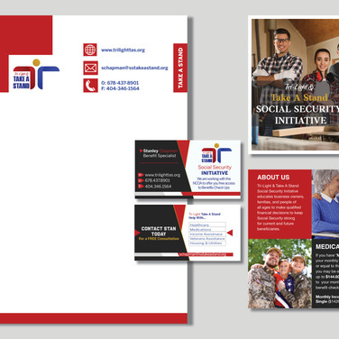 Brand Identity Created by our Professional Graphic/Web Designers