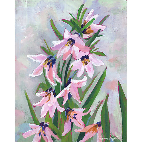 Frittilaria Floral Dance, high quality art print