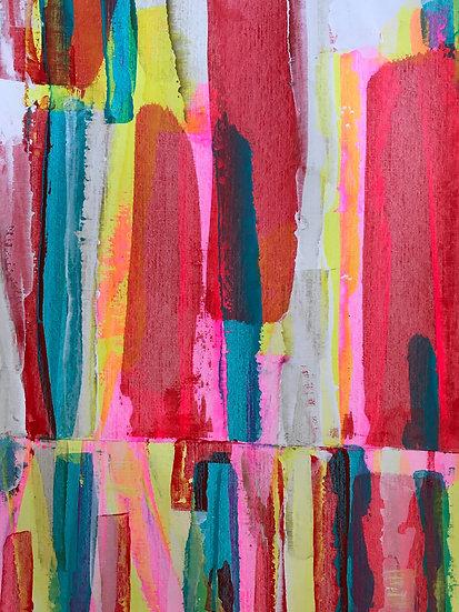 Patterns. reds & pink
