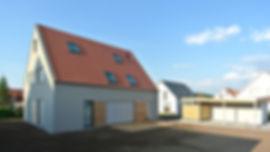Architekt Nürnberg, Architekt Fürth, Architekt Erlangen, guter Architekt, Architekten, Volker Schmidt,Heilsbronn, Einfamilienhaus, Satteldach, Holzhaus, Putzfassade,