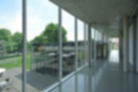 Architekt Nürnberg, Stahlfassade, Glasfassade, Sichtbeton, Holzdeck, Architektur Schwabach, Architektur Stadtmuseum Schwabach