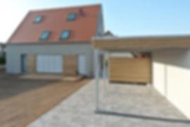 Architekten Nürnberg, Architekten Fürth, Architekten Erlangen, guter Architekt, Architekten, Volker Schmidt,Heilsbronn, Einfamilienhaus, Satteldach, Holzhaus, Putzfassade,