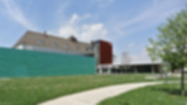 Architekt Nürnberg, Volker Schmidt Architekt, Tecu-Fassade, Kuopferfassade, Doppelstehfalz, vorpatiniertes Kupfer, Goldschläger, Architektur Schwabach