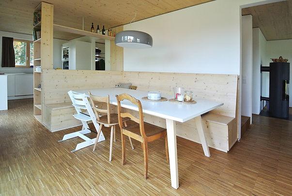 Architekt Nürnberg, Architekt Fürth, Architekt Erlangen, Architekt Neuendettelsau, Architekt Einfamilienhaus, Architekt Holzbau, Brettsperrholzdecke, Volker Schmidt Architekten