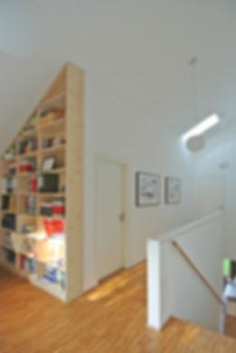 Architekt Nürnberg, Architekt Fürth, Architekt Erlangen, Architekt Neuendettelsau, Architekt Einfamilienhaus, Architekt Holzbau, Wohnen unterm Dach, moderne Architektur, Volker Schmidt Architekten