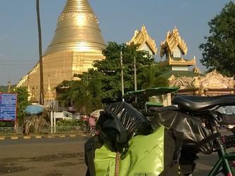 On the road... in Myanmar