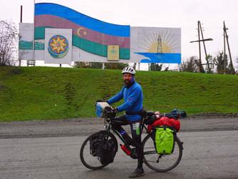 Un día cualquiera pedaleando por Azerbaiyán