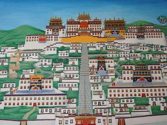 Cicloperegrinos al Tibet