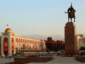 Viviendo dos semanas en Biskek (Kirguistán). La primera semana.
