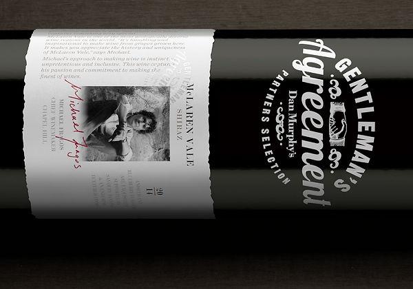 Gentleman's Agreement Wine Packaging Branding and Strategy
