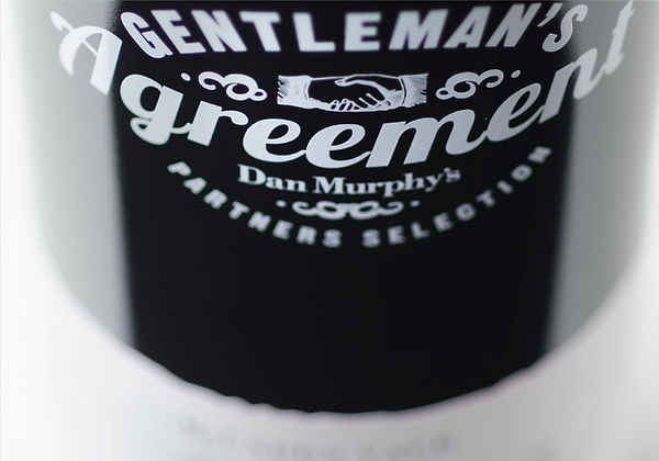 Gentleman's Agreement Wine Packaging Branding and Strategy