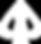 spade logo black gambit white .png