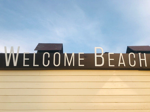 Signalétique / Welcome Lavandou Beach