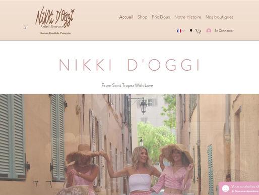 Site E-Commerce / Nikki D'Oggi