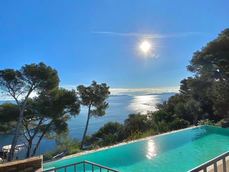 Villa avec accès direct à la plage au Cap Benat !