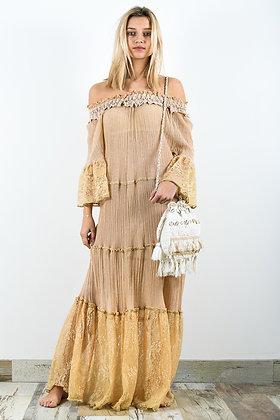 LOTUS Robe Longue