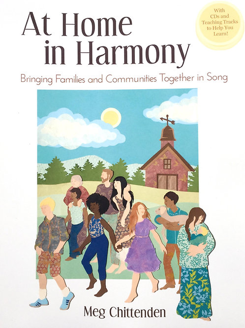 SONGBOOK & CD (Plus Access to On-Line Learning Tracks for Harmonies)
