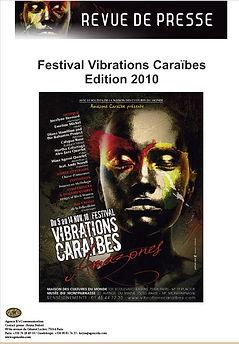 Festival Vibrations Caraïbes Edition 2010