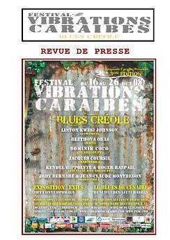 Festival Vibrations Caraïbes Blues Créoles édition 2008
