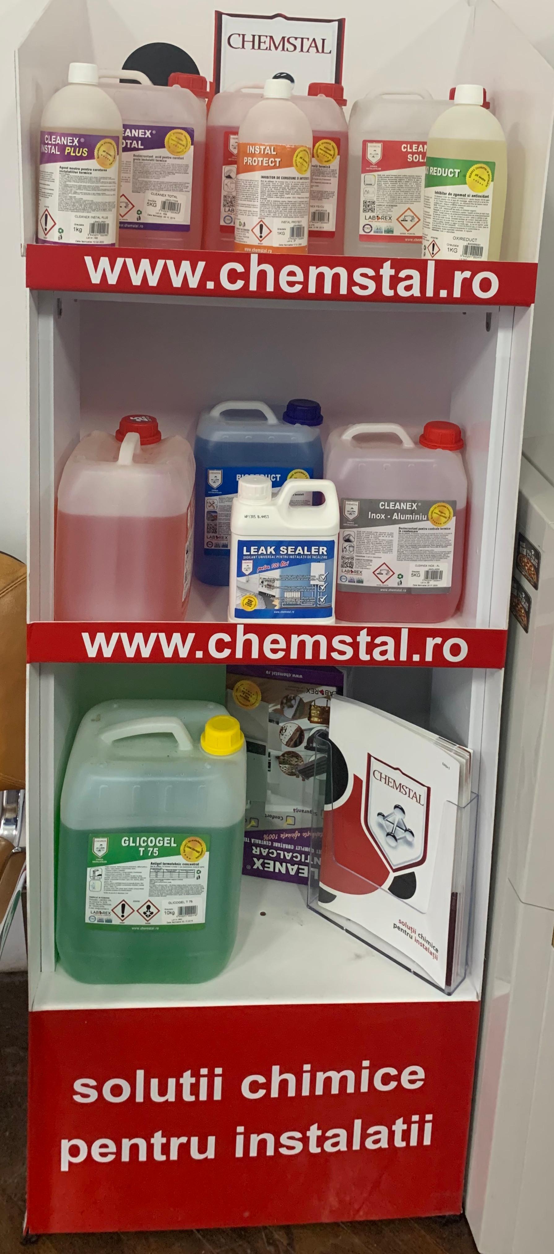 Curatare chimica centrala termica.