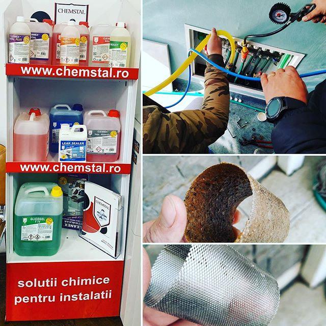 Curatare chimica instalatie