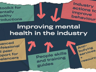 Mental health support programme for productions and individuals from Film and TV Charity