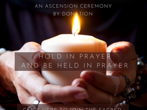 A Call to lightworkers for Held in prayer!