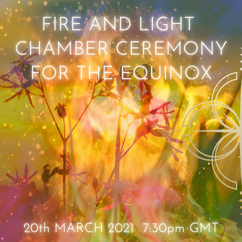 Live Fire and Light Chamber Ceremony - By Donation