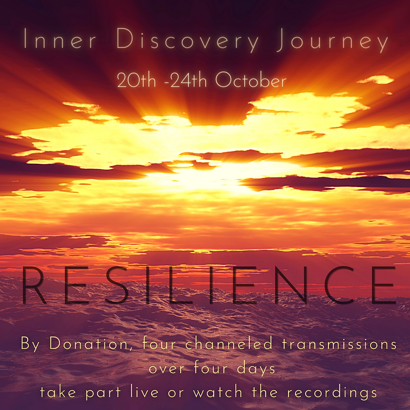 Resilience  - By Donation Inner Discovery Journey