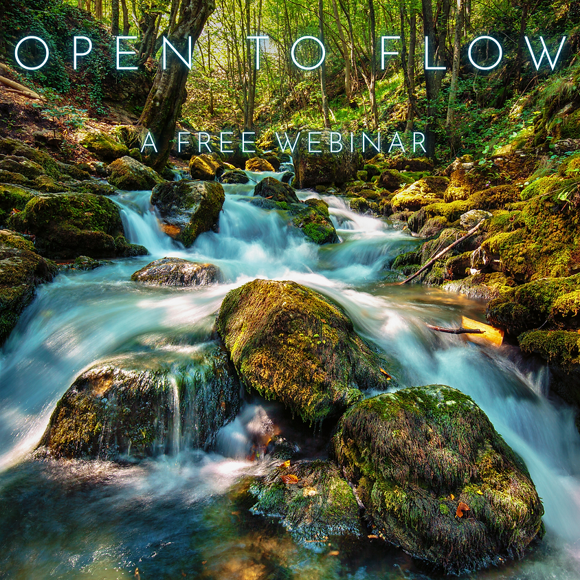 Opening to Flow - A free webinar on living by signs