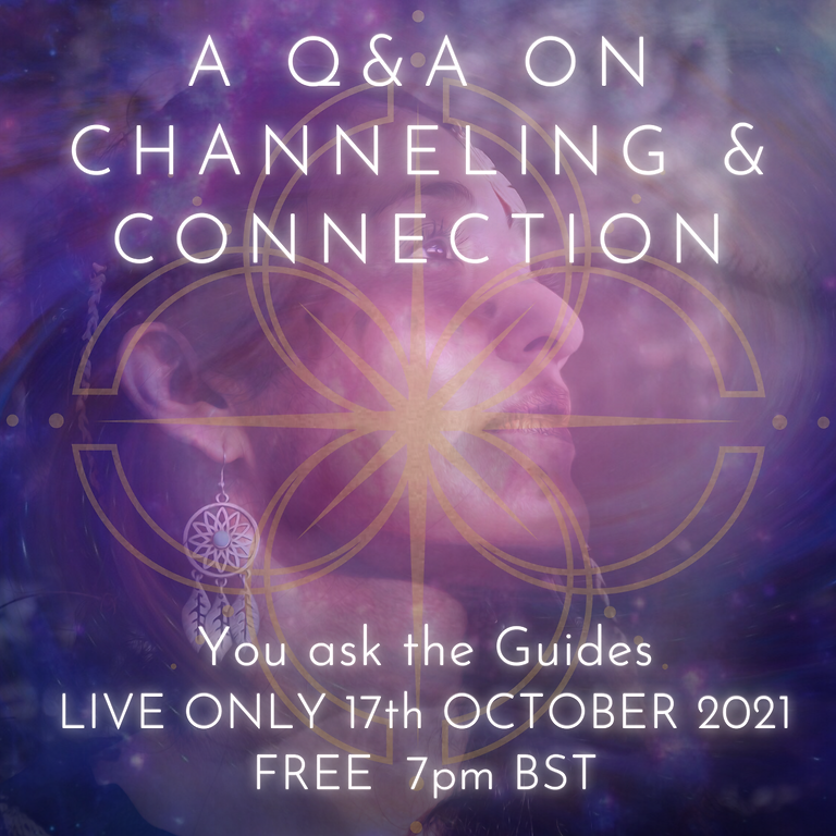 A Free, Live Q&A on Channeling & Connection