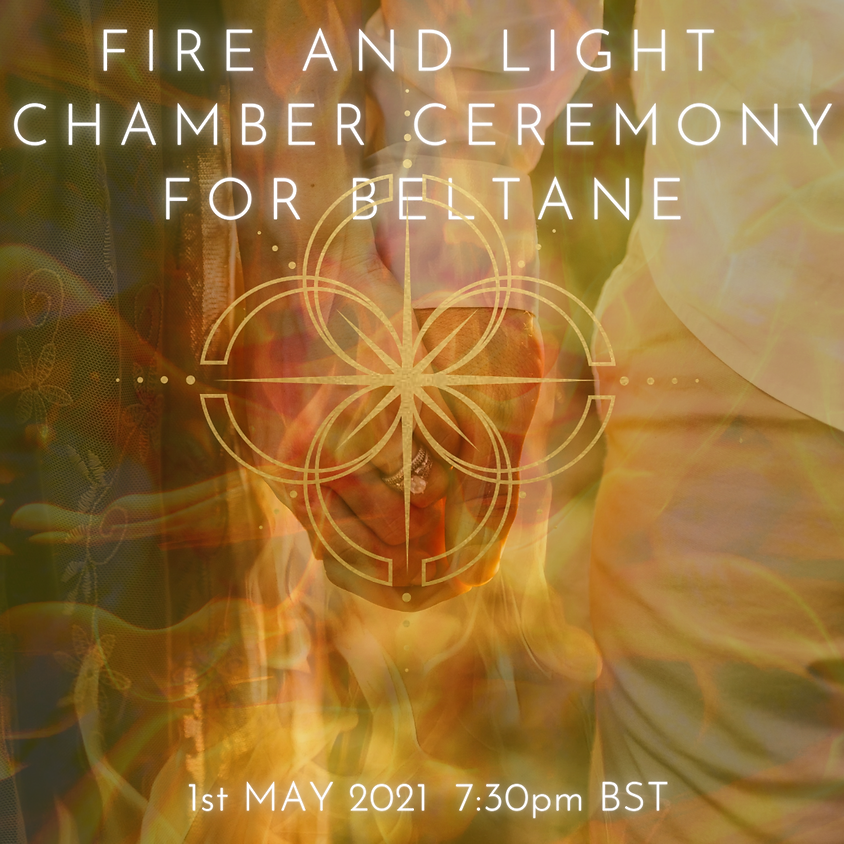 Fire and Light Chamber Ceremony for the Beltane Portal - By Donation