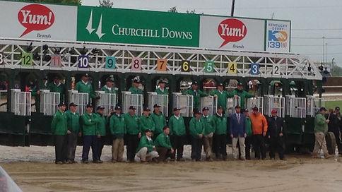 horse racing starting gates
