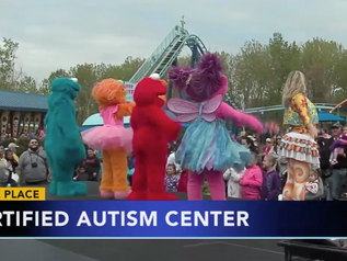 Sesame Place in Pennsylvania is 1st theme park designated as Certified Autism Center