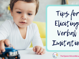 Eliciting Early Verbal Imitation
