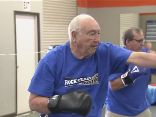 Parkinson's patients punch out disease with boxing class