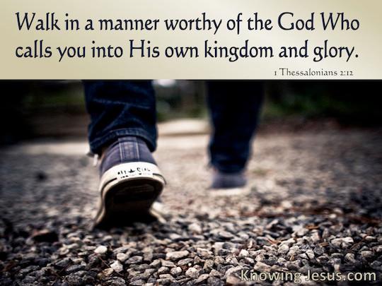 Walk As A Kingdom Minded Warrior