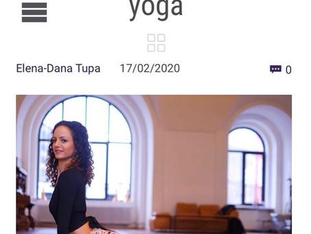 La o vorba cu Maria Irimescu - interviu Purna Yoga