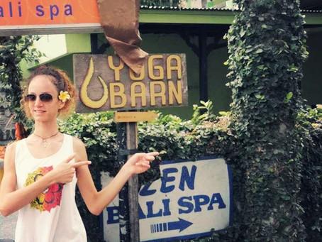 Yoga at Yoga Barn, Ubud, Bali