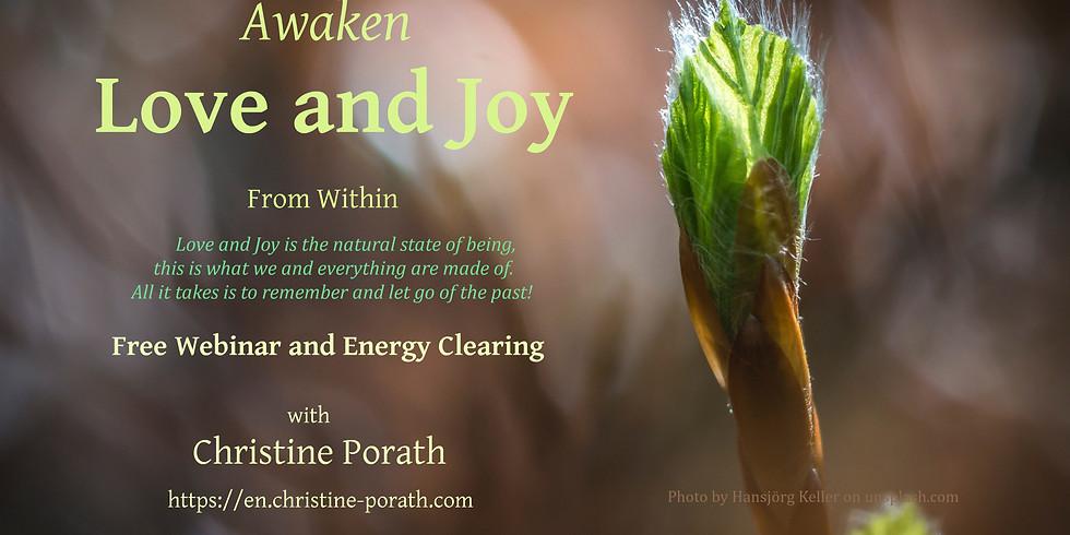 Awaken Love and Joy from within