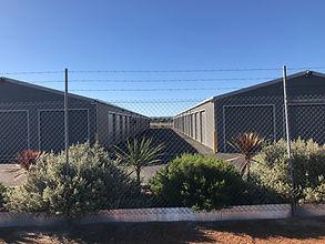 Barbed Wire Fencing Storage Security - Treendale Self Storage - Bunbury Self Storage