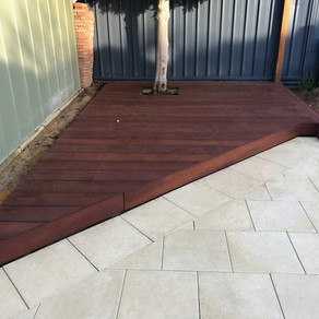 Millboard Decking near the Pool