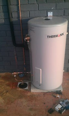 Note: Bylaws have changed in recent years, requiring drains on the overflows and also other changes that Morley Plumbing can install which comply with all current Bylaws.    Instant  Heated on demand. (i.e when tap is opened)    Advantages:  Never runs out of hot water  Only uses power when tap is turned on    Disadvantage  High power consumption  Possibly requiring larger gas pipes/electric mains