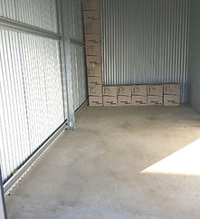 This unit suits a 4 bedroom home and vehicle storage.