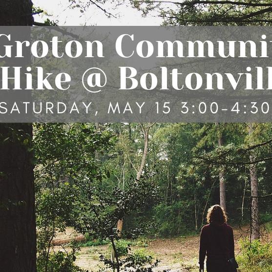 Groton Community Hike @ Boltonville & Blue Mountain Nature Trails