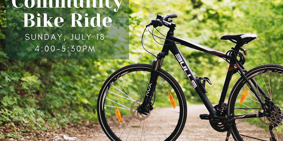 Groton Community Bike Ride #3 (TIME CHANGE: 1pm start)