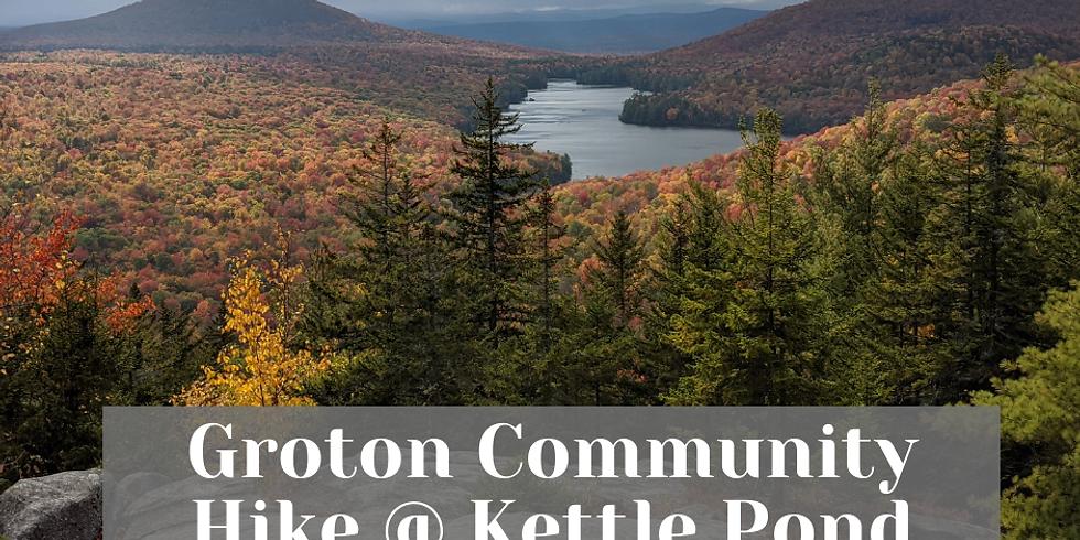 Groton Community Hike @ Kettle Pond