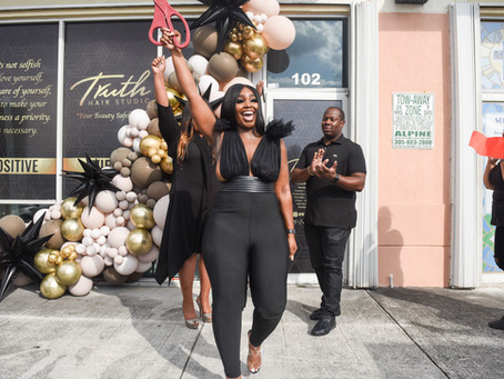 The Relaunch of Truth Hair Studio: The Big Reveal